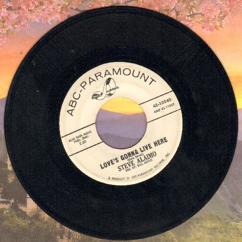 Alaimo, Steve - Love's Gonna Live Here/Let Her Go (DJ advance pressing) - EX8/ - 45 rpm Records