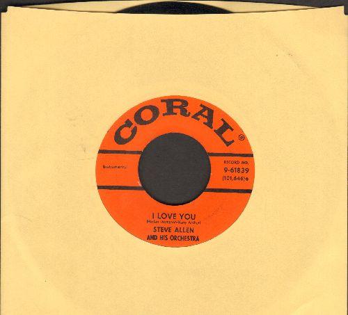 Allen, Steve - I Love You/Do You Ever Think Of Me - EX8/ - 45 rpm Records