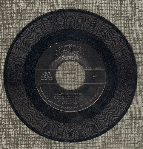 Allen, Rex - Marines, Let's Go/Heartaches Of A Fool - EX8/ - 45 rpm Records