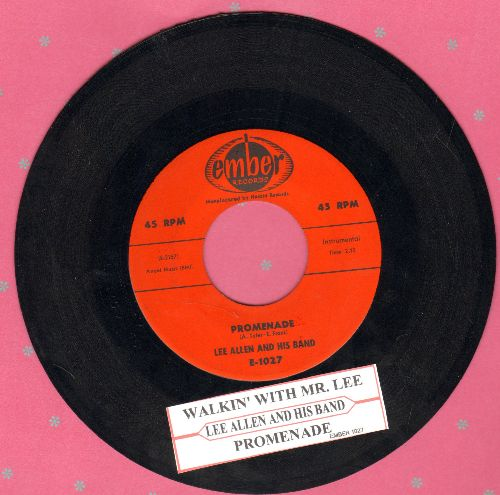 Allen, Lee & His Band - Walkin' With Mr. Lee/Promenade (with juke box label) - NM9/ - 45 rpm Records
