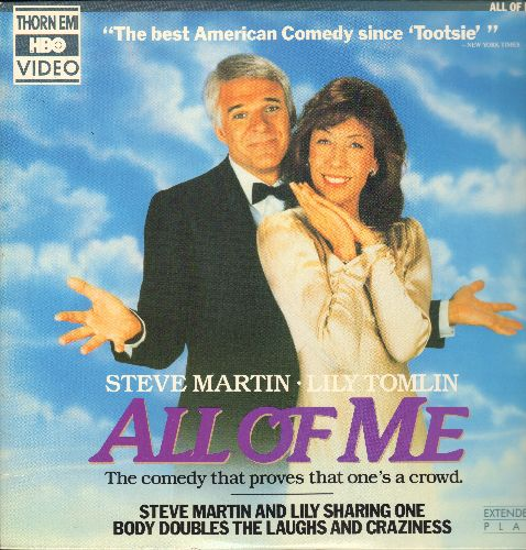 All Of Me - All Of Me - The Comedy Classic starring Lily Tomlin and Steve Martin on LASER DISC! - NM9/EX8 - Laser Discs