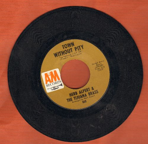Alpert, Herb & The Tijuana Brass - The Happening/Town Without Pitty  - VG7/ - 45 rpm Records