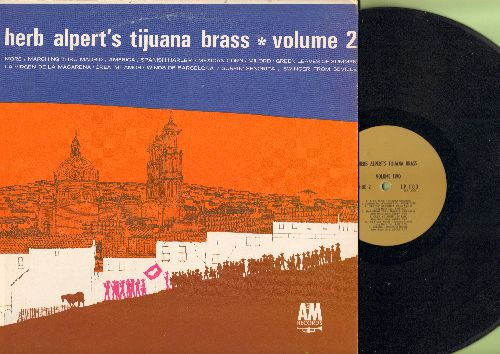 Alpert, Herb & The Tijuana Brass - Herb Alpert's Tijuana Brass Vol. 2: More, Milord, America, Surfin' Senorita (Vinyl MONO LP record) - EX8/EX8 - LP Records