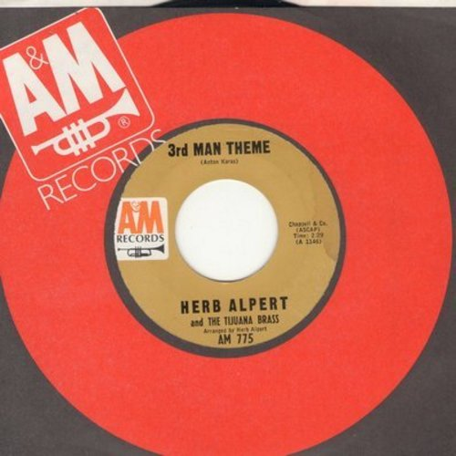 Alpert, Herb & The Tijuana Brass - Taste Of Honey/Third Man Theme (A&M company sleeve) - NM9/ - 45 rpm Records