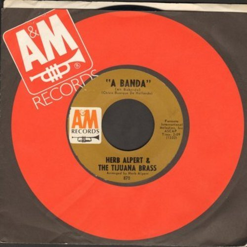 Alpert, Herb & The Tijuana Brass - A Banda/Miss Frenchy Brown  - NM9/ - 45 rpm Records