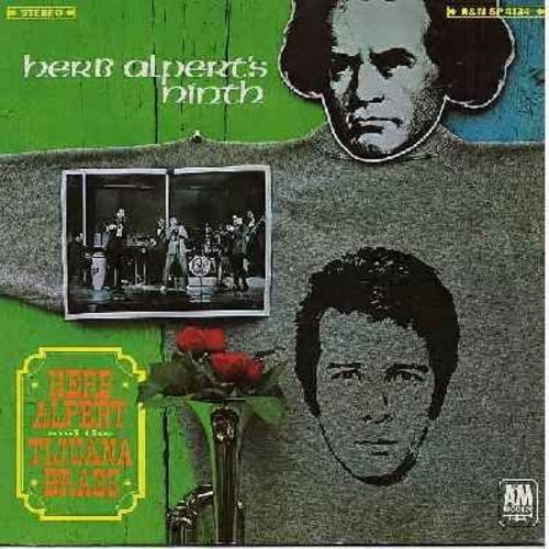 Alpert, Herb & The Tijuana Brass - Herb Alpert's Ninth: A Banda, The Trolley Song, My Heart Belongs To Daddy, With A Little Help From My Friends, The Happening (Vinyl STEREO LP record) - EX8/VG7 - LP Records