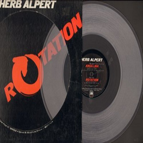 Alpert, Herb - Angelina/Rotation (12 inch Maxi Single, RARE Clear Vinyl Pressing) - NM9/ - LP Records