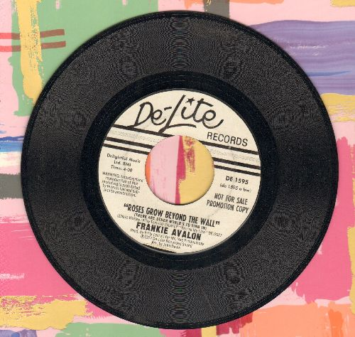 Avalon, Frankie - Roses Grow Beyond The Wall/Midnight Lady - EX8/ - 45 rpm Records