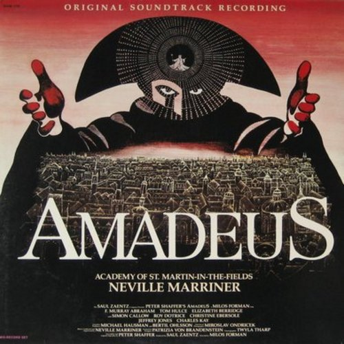 Amadeus - Amadeus - Original Soundtrack Recording, Academy Award Winning Score (2 vinyl LP record set, gate-fold cover) - NM9/EX8 - LP Records