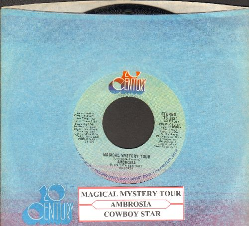 Ambrosia - Magical Mystery Tour/Cowboy Star (with juke box label and company sleeve) - EX8/ - 45 rpm Records