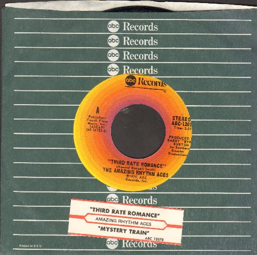 Amazing Rhythm Aces - Third Rate Romance/Mystery Train (with juke box label and company sleeve) - NM9/ - 45 rpm Records
