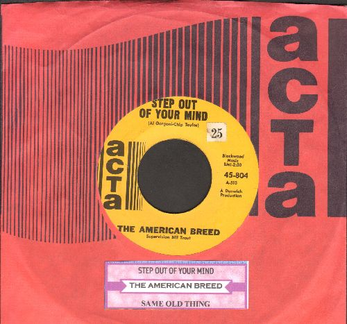 American Breed - Step Out Of My Mind/Same Old Thing (with juke box label and RARE vintage ACTA company sleeve) - NM9/ - 45 rpm Records