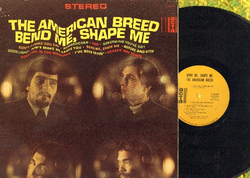 American Breed - Bend Me, Shape Me: Green Light, No Easy Way Down, Bird, Something You've Got (vinyl STEREO LP record) - NM9/EX8 - LP Records