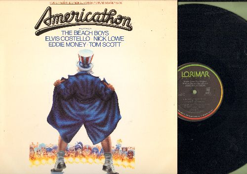 Americathon - Americathon - Original Motion Picture Soundtrack featuring music by The Beach Boys, Nick Lowe, others (vinyl STEREO LP record) - NM9/NM9 - LP Records