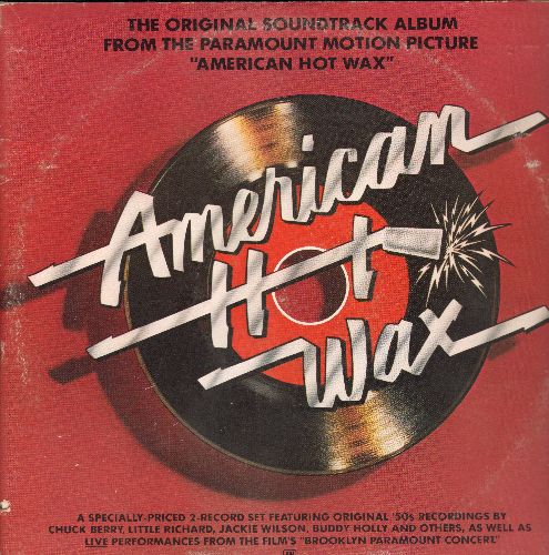American Hot Wax - American Hot Wax - From the Original Motion Picture Sound Track (2 vinyl STEREO LP records in gate-fold cover) - NM9/VG7 - LP Records