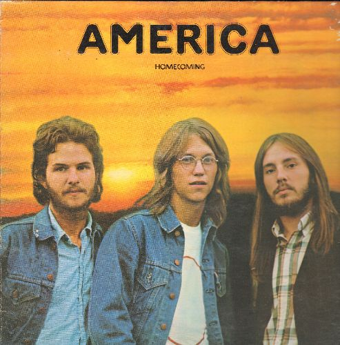 America - Homecoming: Ventura Highway, Only In Your Heart, Till The Sun Comes Up Again, Saturday Nights (vinyl STEREO LP record, gate-fold cover) - EX8/EX8 - LP Records