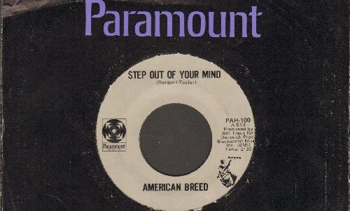 American Breed - Step Out Of Your Mind/Bend Me, Shape Me (with Paramount company sleeve) - NM9/ - 45 rpm Records