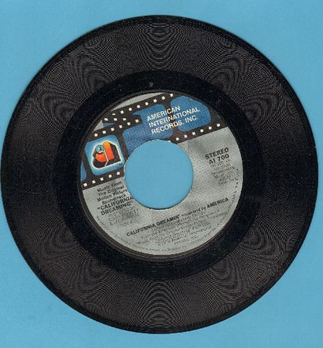 America - California Dreamin'/See It My Way (by FDR on flip-side) (both tracks from film -California Dreaming-) - EX8/ - 45 rpm Records