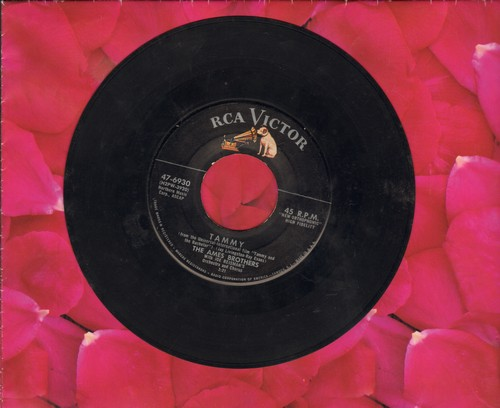 Ames Brothers - Rockin' Shoes/Tammy  - VG6/ - 45 rpm Records
