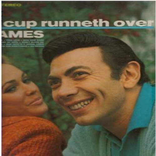 Ames, Ed - My Cup Runneth Over: True Love, Edelweiss, Melinda, Bon Soir Madame (Vinyl STEREO LP record) - NM9/VG7 - LP Records
