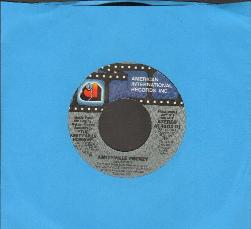Amityville Horror - Amityville Frenzy/(RARE double-A-sded MONO/STEREO DJ advance pressing) - M10/ - 45 rpm Records