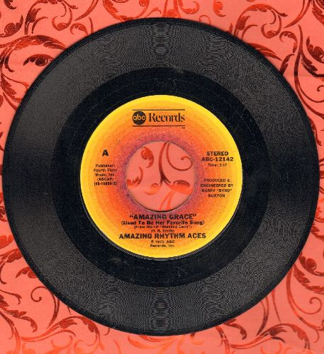 Amazing Rhythm Aces - Amazing Grace (Was Her Favorite Song)/The Beautiful Lie  - EX8/ - 45 rpm Records