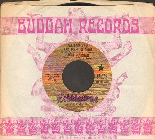 Marshall, Jackie - Fabulous Cars And Diaamond Rings/Please Be Real (DJ advance pressing with company sleeve) (wol) - VG6/ - 45 rpm Records