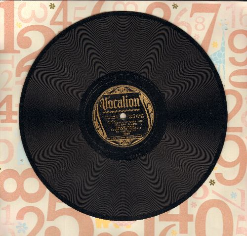 Armstrong, Louis & His Orchestra - If I Could Be With You (One Hour Tonight)/Confessin' That I Love You (10 inch 78 rpm record) - VG7/ - 78 rpm