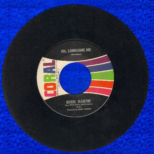 Martin, Bobbi - Oh, Lonesome Me/It's A Sin To Tell A Lie - NM9/ - 45 rpm Records