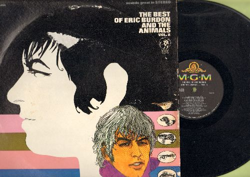 Burdon, Eric & The Animals - Best Of Vol.II: When I Was Young, A Girl Names Sandoz, Don't Bring Me Down, See See Rider, Help Me Girl, You're On My Mind (vinyl Stereo LP record) - EX8/VG7 - LP Records