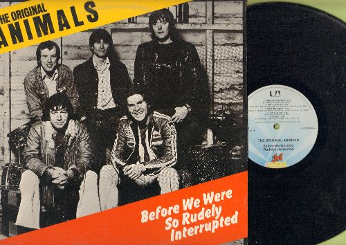 Animals - Before We Were So Rudely Interrupted: Brother Bill (The Last Clean Shirt), Please Send Me Someone To Love, The Fool (vinyl LP record) - NM9/EX8 - LP Records