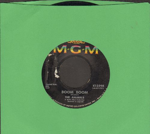 Animals - Boom Boom/Blue Feeling  - VG6/ - 45 rpm Records