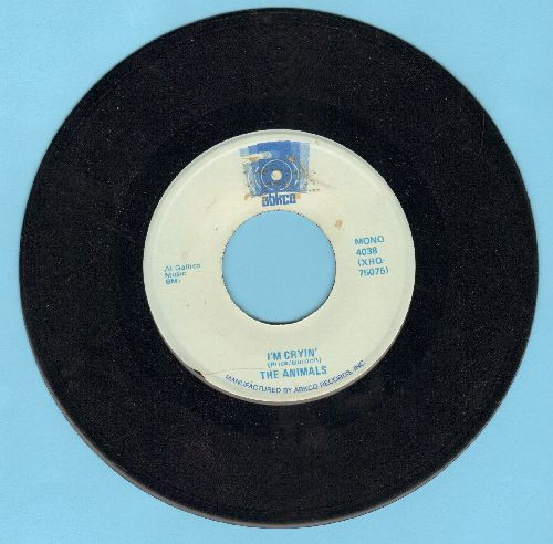 Animals - I'm Cryin'/Boom Boom (doule-hit re-issue) - NM9/ - 45 rpm Records