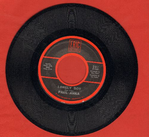 Anka, Paul - Lonely Boy/I Miss You So (early double-hit re-issue) - NM9/ - 45 rpm Records