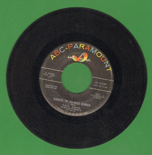 Anka, Paul - Rudolph, The Red-Nosed Reindeer/It's Christmas Everywhere - VG7/ - 45 rpm Records
