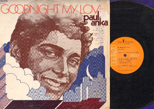 Anka, Paul - Goodnight My Love: Daddy's Home, In The Still Of The Night, You Send Me, Silhouettes, I've Gotta Be Me (vinyl STEREO LP record) - NM9/VG7 - LP Records