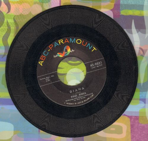 Anka, Paul - Diana/Don't Gamble With Love  - EX8/ - 45 rpm Records