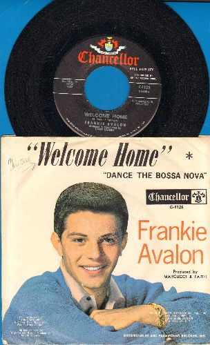 Avalon, Frankie - Welcome Home/Dance The Bossa Nova (with picture sleeve) - NM9/EX8 - 45 rpm Records