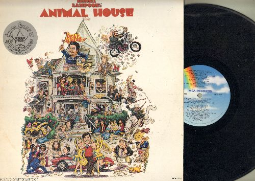 Animal House - Animal House - Original Motion Picture Soundtrack (vinyl LP record) - NM9/EX8 - LP Records