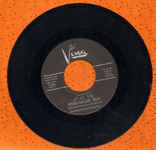 Annette - Jo-Jo The Dog-Faced Boy/Lonely Guitar (black label first issue, ssol) - EX8/ - 45 rpm Records