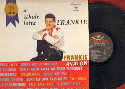 Avalon, Frankie - A Whole Lotta Frankie: Venus, De De Dinah, I'll Wait For You, Why, Gingerbread, Just Ask Your Heart (vinyl MONO LP record) - EX8/EX8 - LP Records