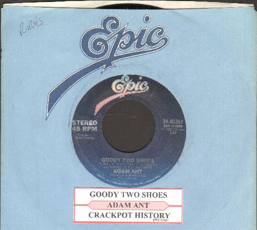 Ant, Adam - Goody Two Shoes/Crackpot History (with juke box label and Epic company sleeve) - NM9/ - 45 rpm Records