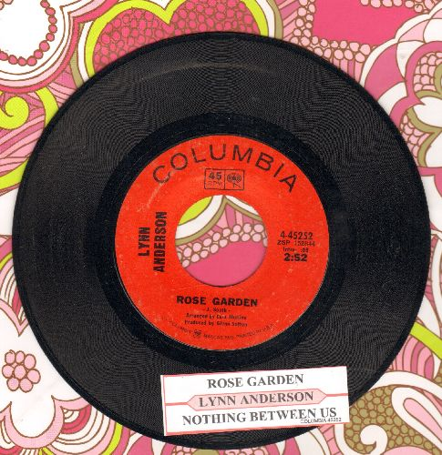 Anderson, Lynn - Rose Garden/Nothing Between Us (with juke box label) - VG7/ - 45 rpm Records