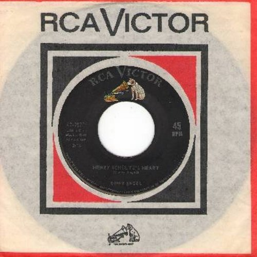 Angel, Ginny - Henry Schultz's Heart/There'll Be Some Changes Made (with vintage RCA company sleeve) - NM9/ - 45 rpm Records