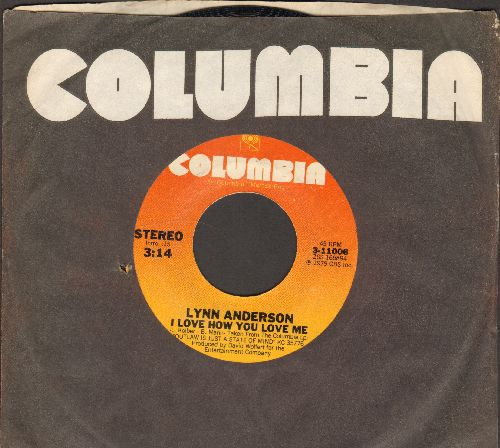 Anderson, Lynn - I Love How You Love Me/Come As You Are (with Columbia company sleeve) - NM9/ - 45 rpm Records