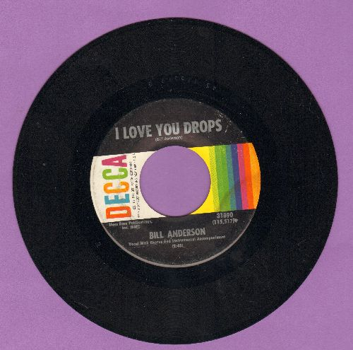 Anderson, Bill - I Love You Drops/Golden Guitar - EX8/ - 45 rpm Records