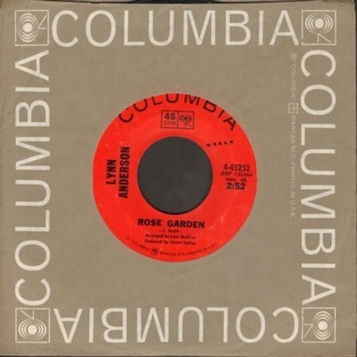 Anderson, Lynn - Rose Garden/Nothing Between Us (with Columbia company sleeve) - NM9/ - 45 rpm Records
