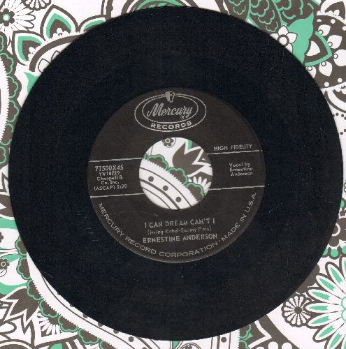 Anderson, Ernestine - I Can Dream Can't I/I Heard You Cried Last Night - NM9/ - 45 rpm Records