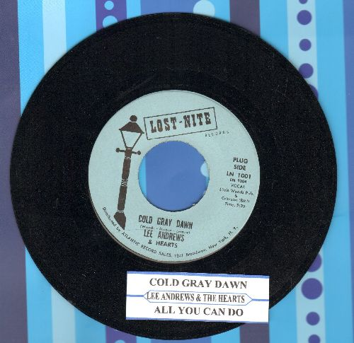 Andrews, Lee & Hearts - Cold Gray Dawn/All You Can Do (double-hit re-issue with juke box label) - NM9/ - 45 rpm Records