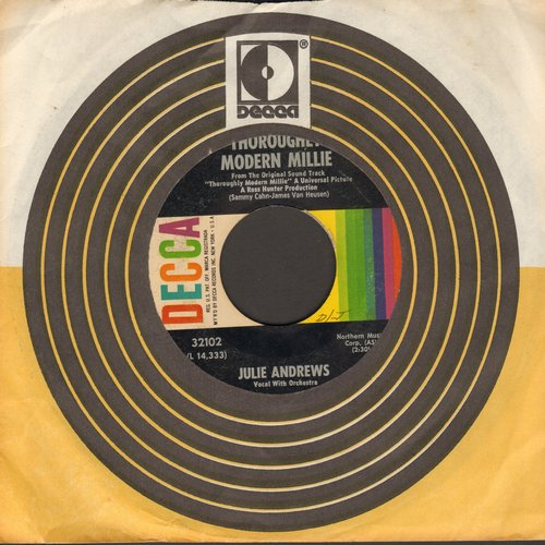 Andrews, Julie - Thoroughly Modern Millie/Jimmy (with Decca company sleeve) - VG7/ - 45 rpm Records